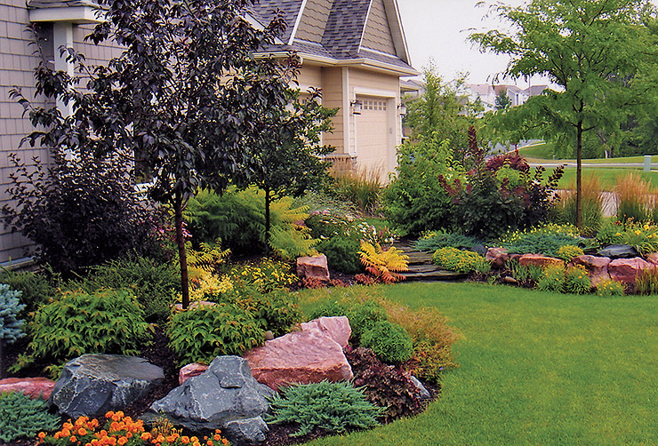 Professional tree trimming removal services suburban landscape wichita kansas for Designers home gallery wichita
